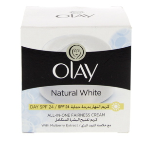 Olay Natural White Normal And Dry Skin Day Cream SPF 24 100g