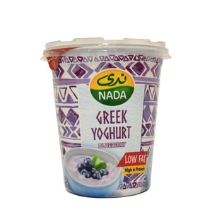 Nada Greek Yoghurt Blueberry Low Fat 360g