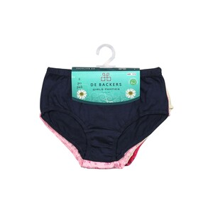 Debackers Girl Panty Assorted Colors Pack of 6 FM52017