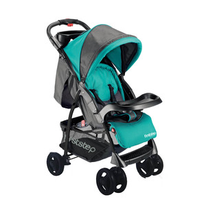 First Step Baby Stroller E220HL Green/Grey