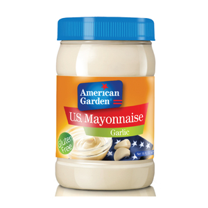 American Garden U.S. Mayonnaise - Garlic 473ml