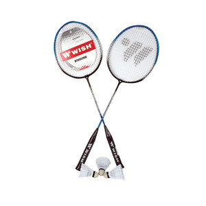 Wish Badminton Racket 2pc Set 216