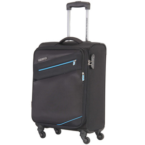 American Tourister Fiji 4Wheel Soft Trolley 59cm Black