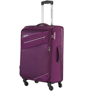 American Tourister Fiji 4Wheel Soft Trolley 59cm Plum