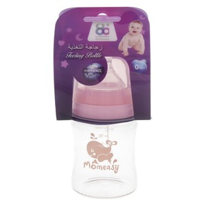Mom Easy Glass Feeding Bottle 4oz 49402  1pc