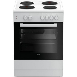 Beko Electric Cooking Range FSS66000GW 60x60 4Burner