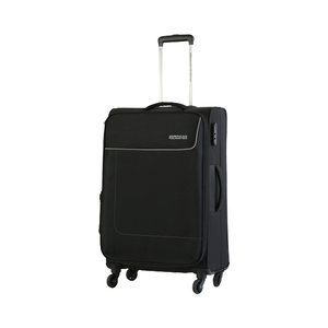 American Tourister Jamaica 4Wheel Soft Trolley 55cm Black