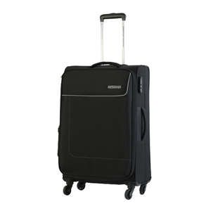 American Tourister Jamaica 4 Wheel Soft Trolley 66cm Black Color