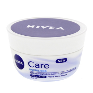 Nivea Care Nourishing Face & Body Cream 50ml