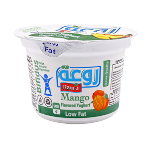 Rawa Mango Flavored Yoghurt Low Fat 100g