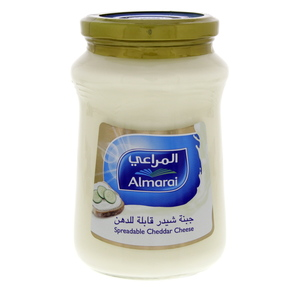 Almarai Spreadable Cheddar Cheese 500g