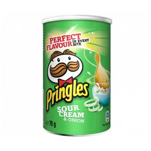 Pringles Chips Sour Cream & Onion 70g