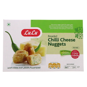Lulu Breaded Chilli Cheese Nuggets 250g