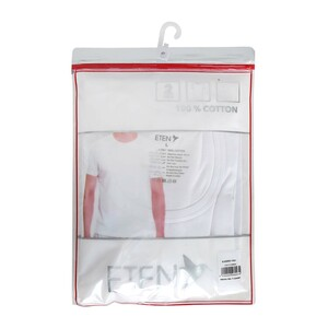 Eten Men's T-Shirt 2Pcs Pack White ETTS02