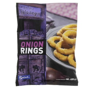 Salud Cantina Gato Negro Onion Rings 450g