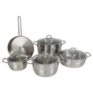 Vivaldi Stainless Steel Cookware Set Aster Plus 9pcs
