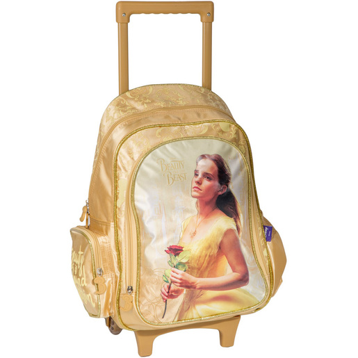 Beauty and the Best School Trolley Bag FK100132 16inch