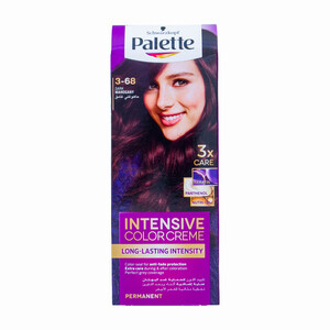 Palette Intensive Colour Cream 3-68 Dark Mahogany 1 Packet