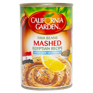 California Garden Fava Beans Mashed Egyptian Recipe 450g