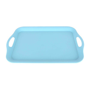 Home Bamboo Fibre Serving Tray JH80009 Assorted Color