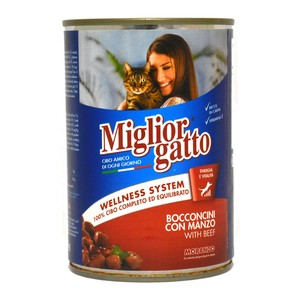 Miglior Gatto Cat Food With Beef 405g