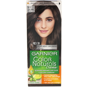 Garnier Color Naturals Light Ashy Brown 5.1 Hair Color 1 Packet