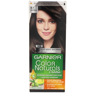 Garnier Color Naturals Ashy Brown 4.1 Hair Color 1 Packet