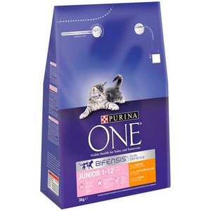 PURINA ONE Kitten, Junior Chicken and Whole Grain 3kg