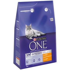 PURINA ONE Adult Cat Chicken and Whole Grains 3kg