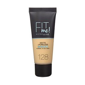 Maybelline Fit Me  Matte And Poreless Foundation 128 Warm 1pc