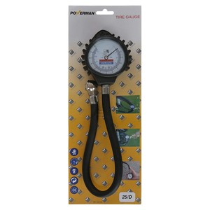 Powerman Tire Gauge Zinc Alloy SDG08-2