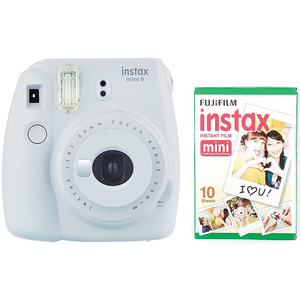 Fujifilm instax mini 9 Instant Camera White + Film
