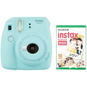 Fujifilm instax mini 9 Instant Camera Ice Blue + Film