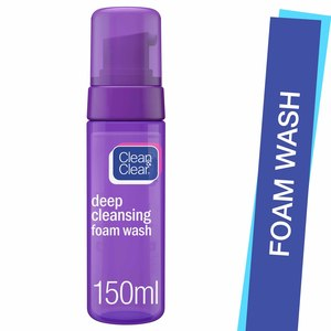 Clean & Clear Foam Wash Deep Cleansing 150ml