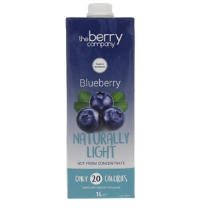 The Berry Company Blueberry Naturally Light 1Litre