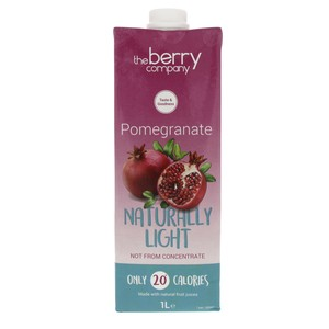 The Berry Company Pomegranate Naturally Light 1Litre