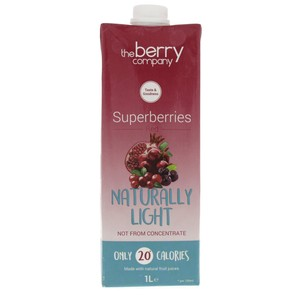 The Berry Company Superberries Red Naturally Light 1Litre