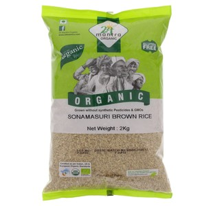 24 Mantra Sona Masuri Brown Rice 2kg