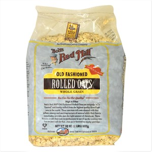 Bob's Red Mill Old Fashioned Rolled Oats Whole Grain 907g