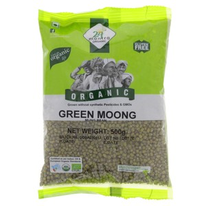 24 Mantra Organic Green Moong 500g