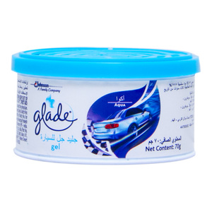 Glade Car Airfreshner Gel Aqua 70g