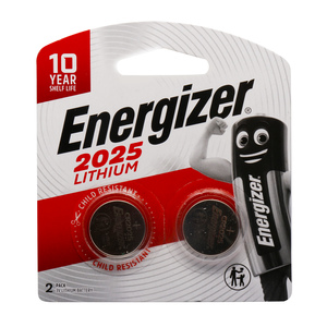 Energizer Lithium Battery 2025 2pcs