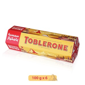 Toblerone Milk Chocolate 6 x 100g