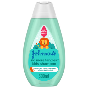 Johnson's Shampoo No More Tangles Kids Shampoo 500ml
