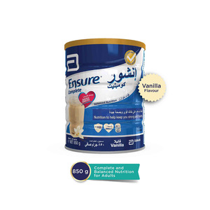 Ensure Powdered Milk Complete And Balanced Nutrition For Adults Vanilla 850g