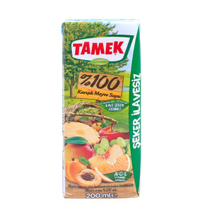 Tamek Multi Fruit Juice 200ml