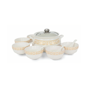 Home Soup Bowl Set 14pcs Assorted Color