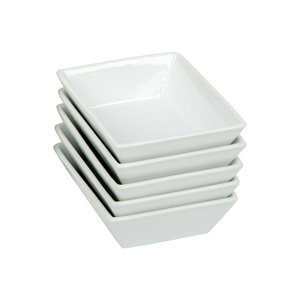 Home Ceramic Sauce Dish Set DC1ZH268C 5pcs