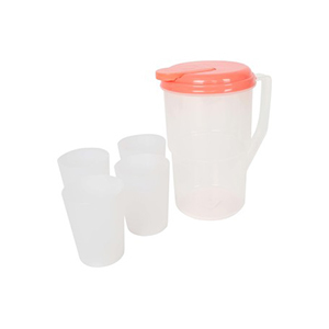 Bee Pitcher + Tumbler 4pcs