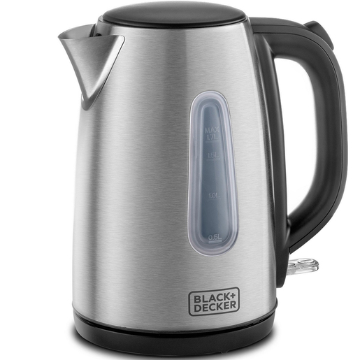 Black+Decker Stainless Steel Kettle JC450 1.7Ltr